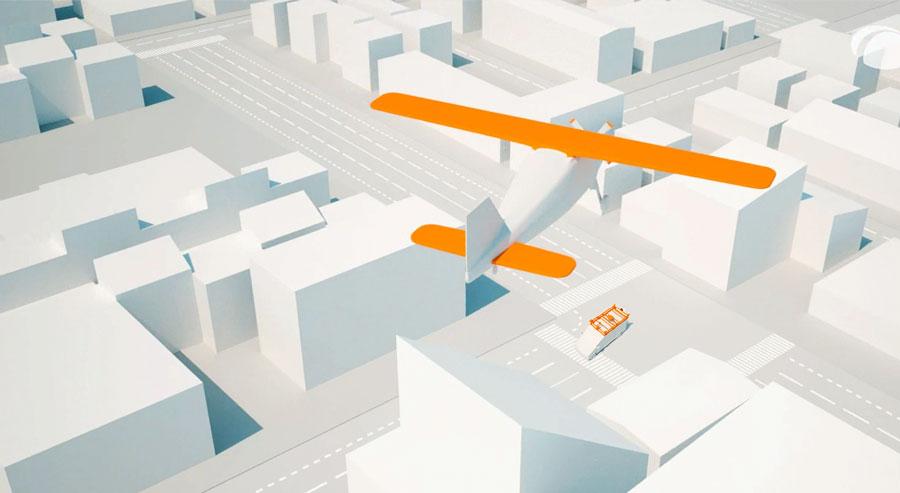 Datenerfassung aus der Luft